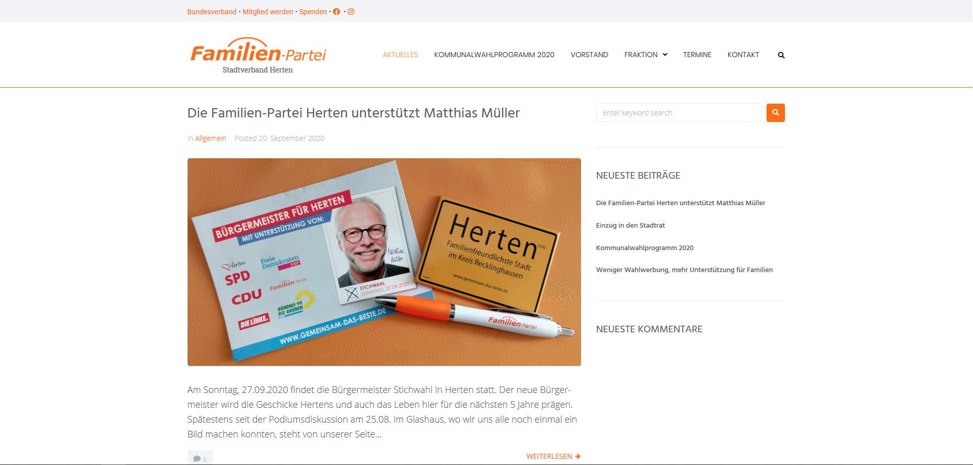 Familien-Partei Stadtverband Herten